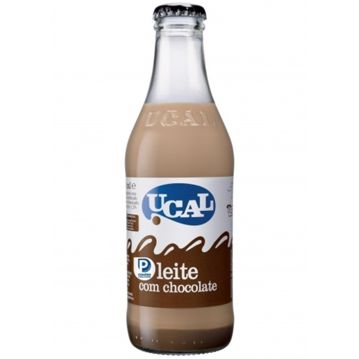 Leche con chocolate Ucal Botella 24x250ml