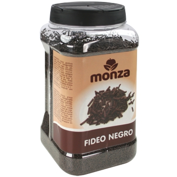 Fideo Vegetal Chocolate Negro en frasco dosificador 1000g