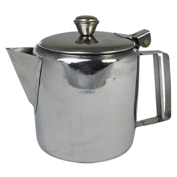 Stainless Steel Tea Pot with Lid 2000ml Economic 1 pcs