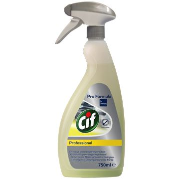 Strong Degreaser Detergent CIF Pro Formula 750ml